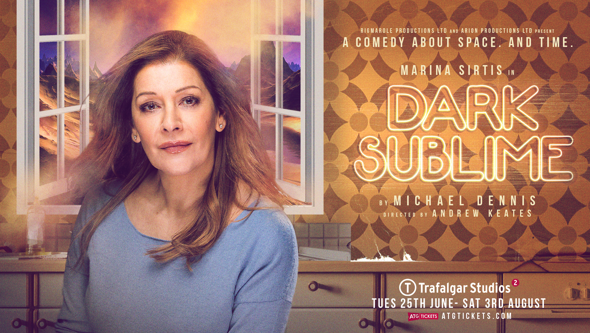 Dark Sublime at Trafalgar Studios Logo