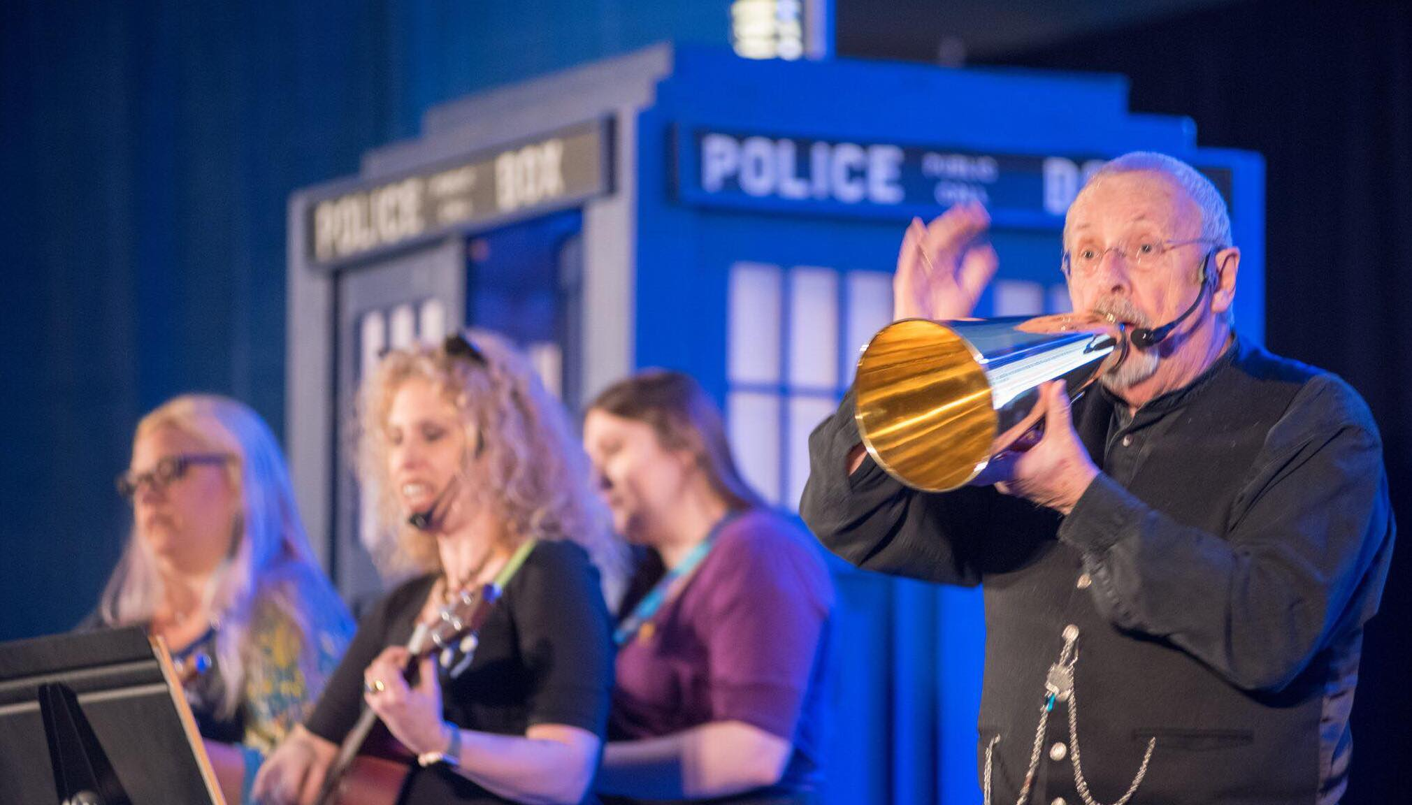 Doctor Who's Davros (Terry Molloy) to perform cabaret at Sci-Fi Ball 25 Logo
